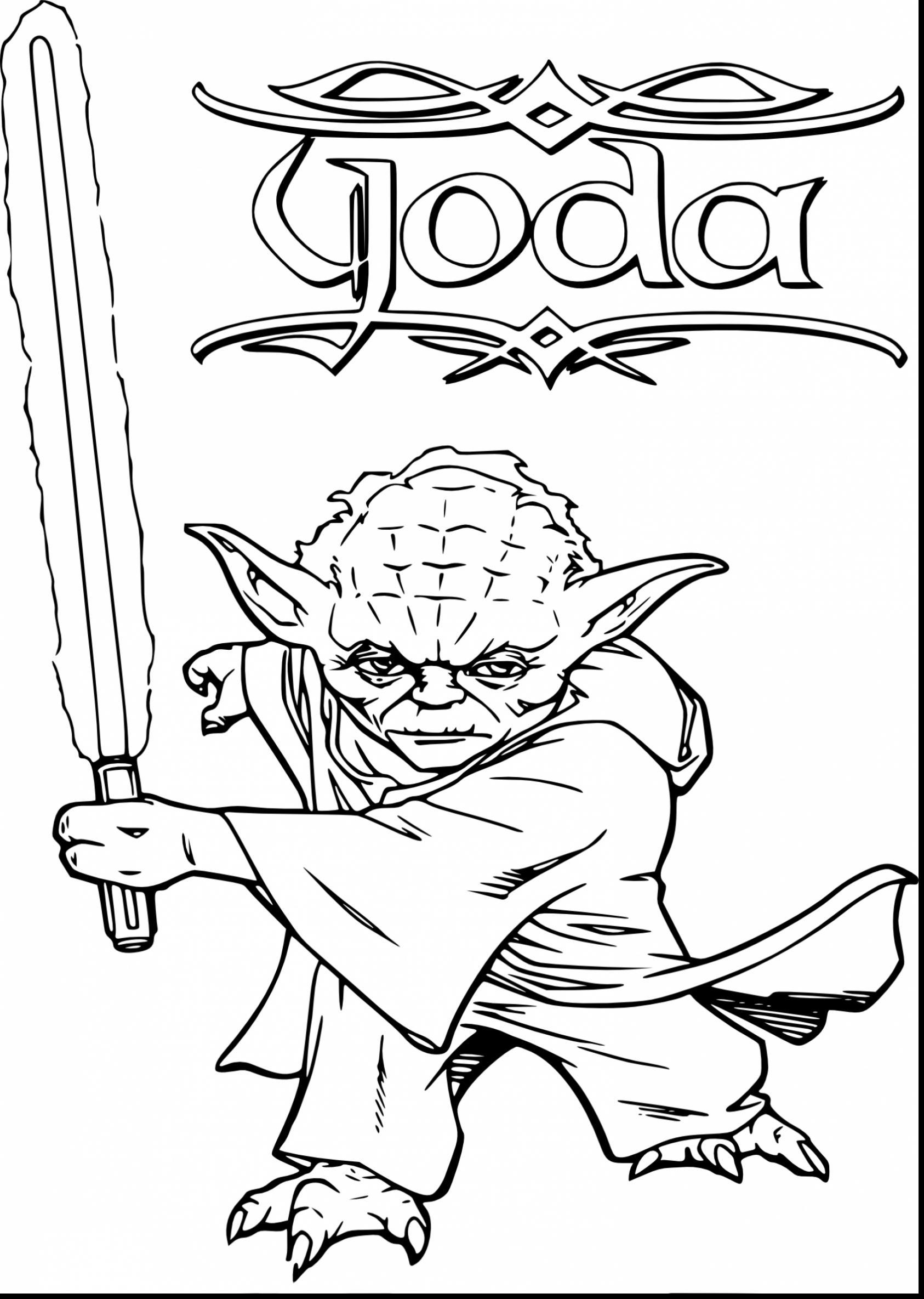 Star Wars Yoda Drawing At Getdrawings