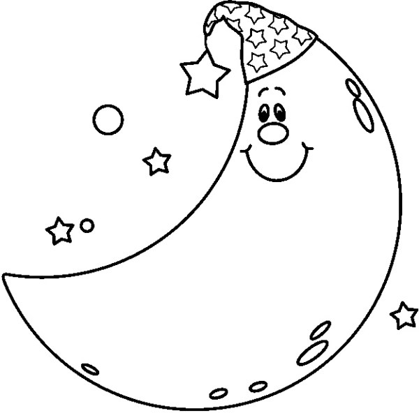 Stars And Moon Drawing at GetDrawingscom Free for