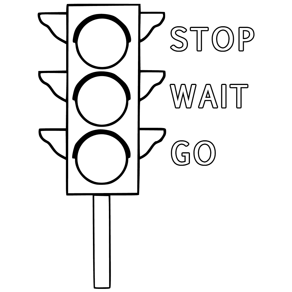 Stop Light Drawing At Getdrawings