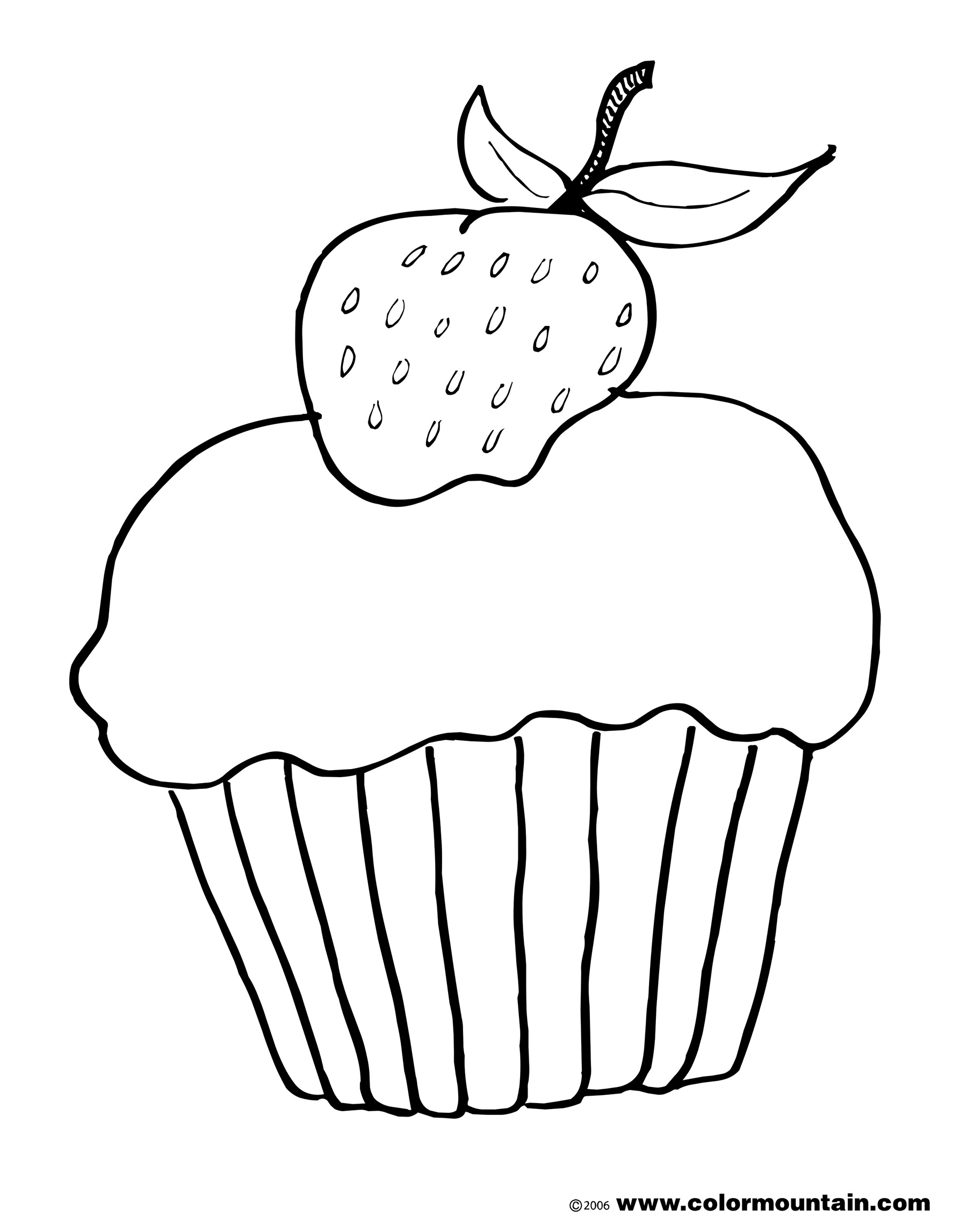 Strawberry Outline Drawing At Getdrawings