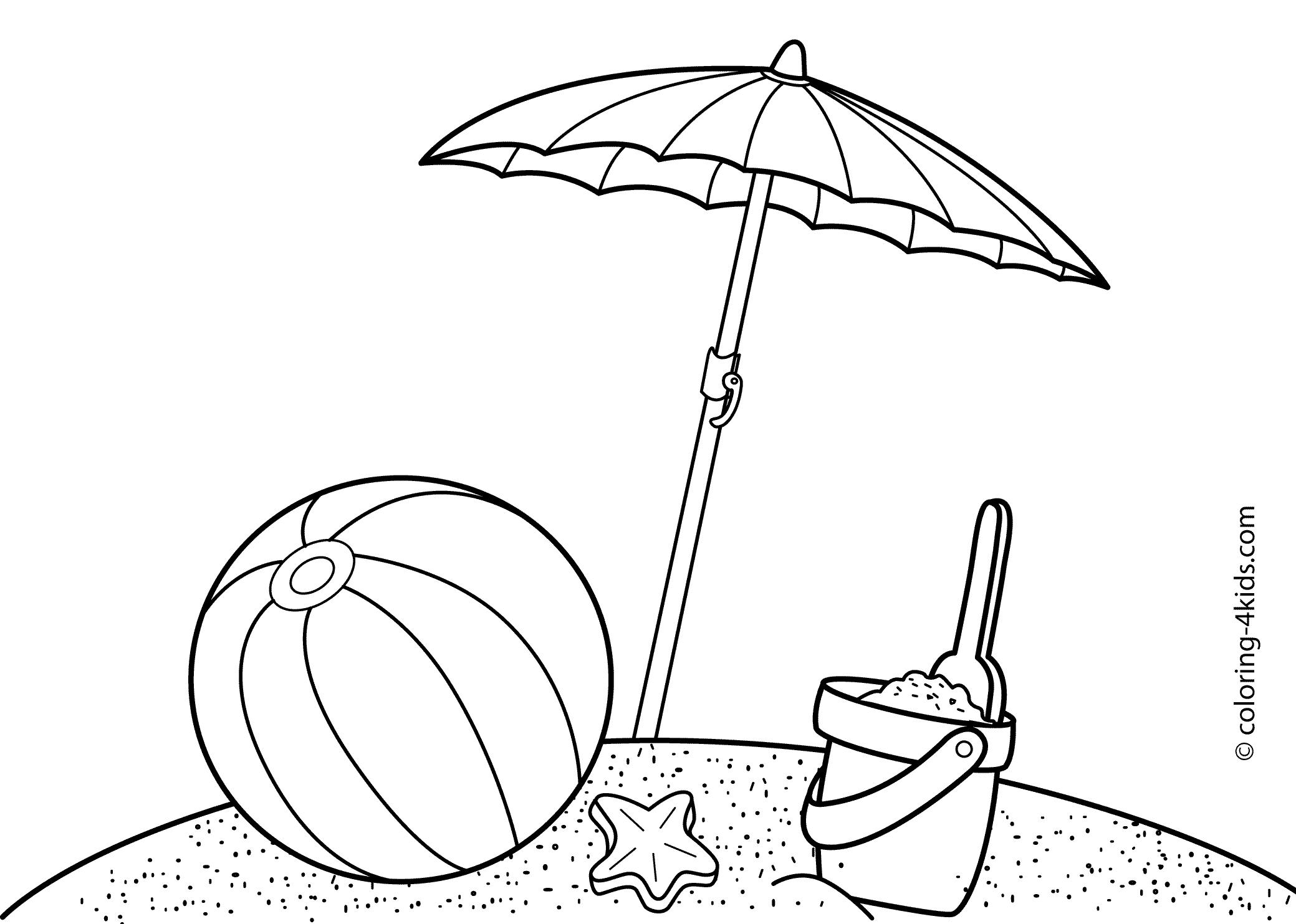 Summer Drawing Images At Getdrawings