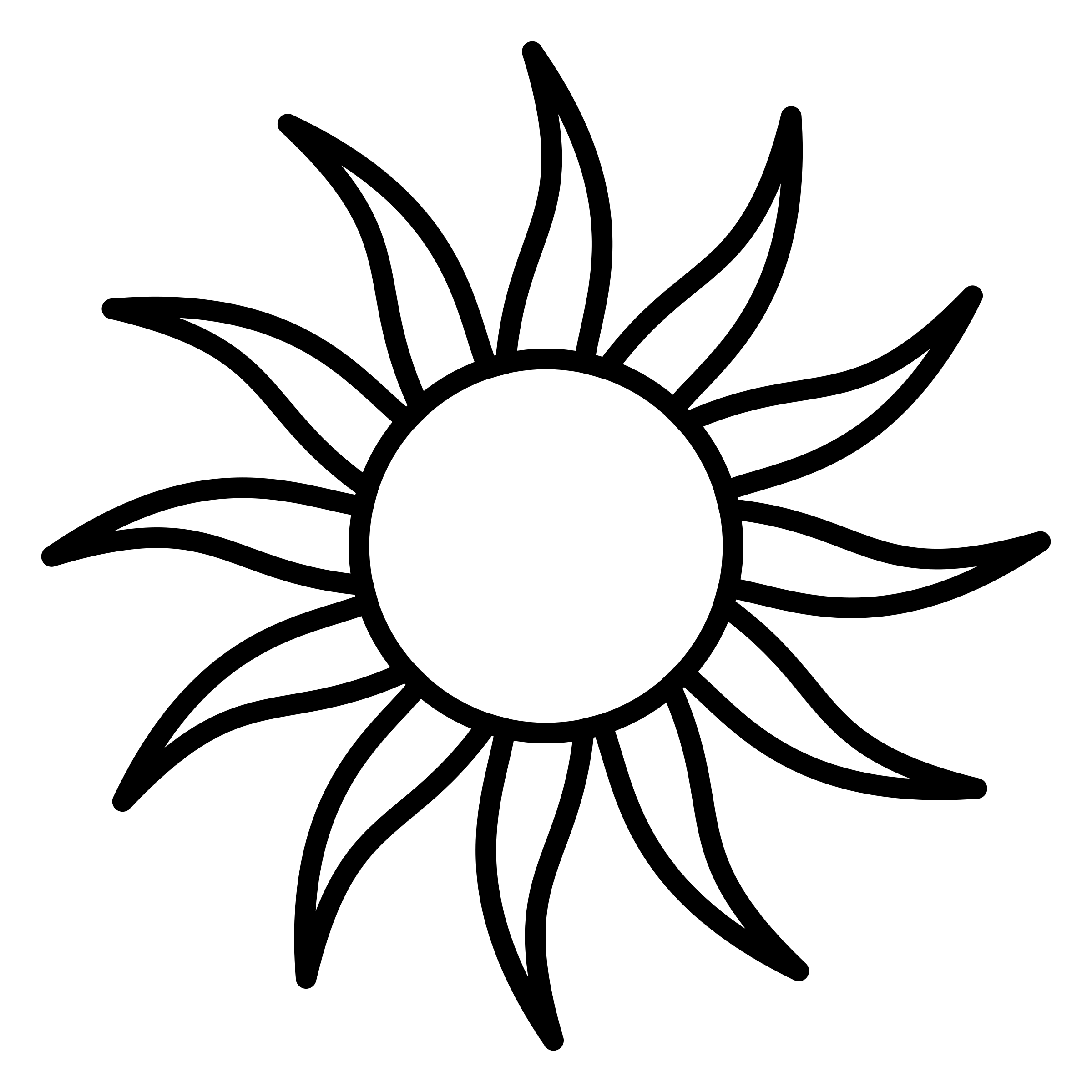 Sun Outline Drawing At Getdrawings
