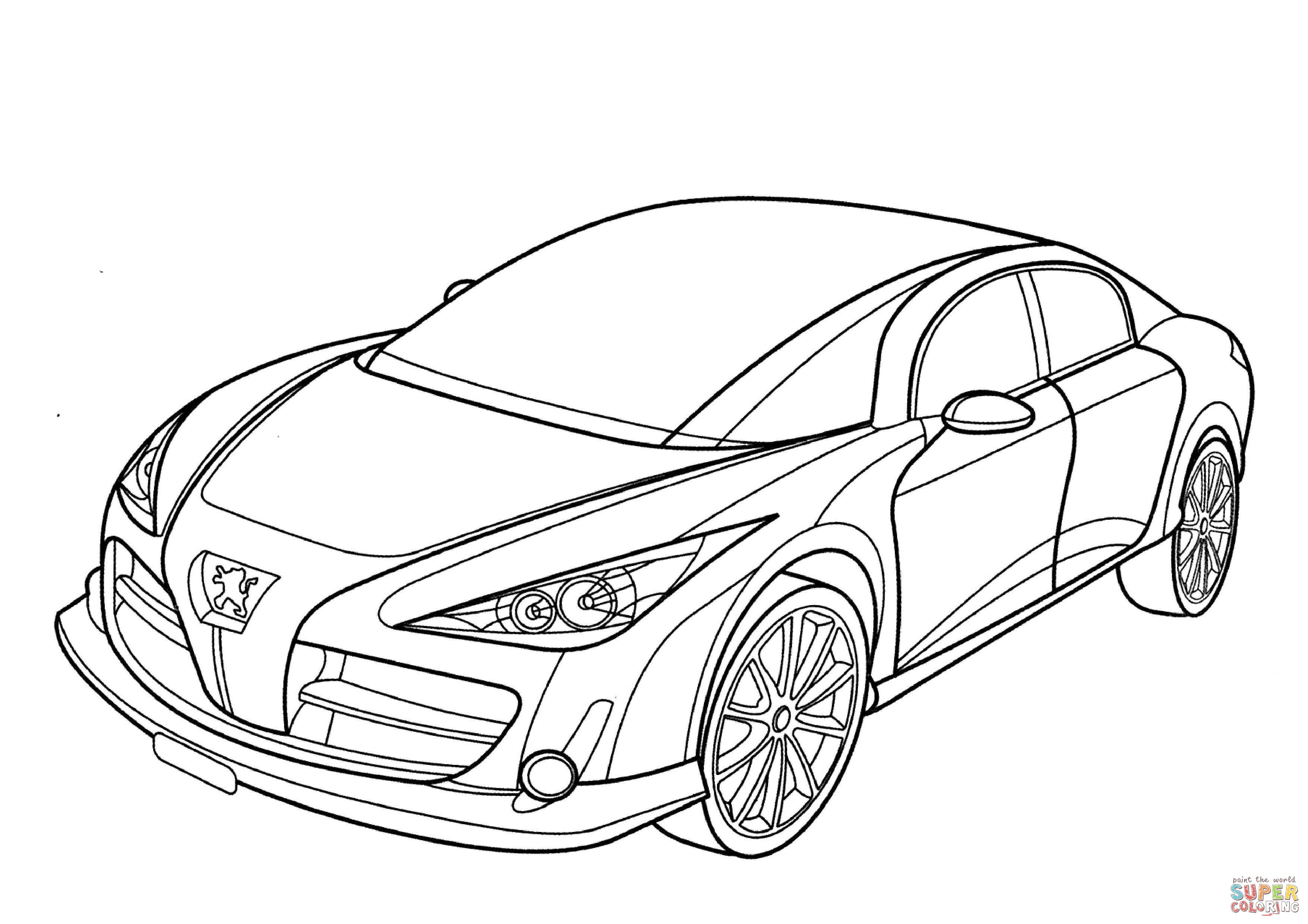 Supercars Drawing At Getdrawings