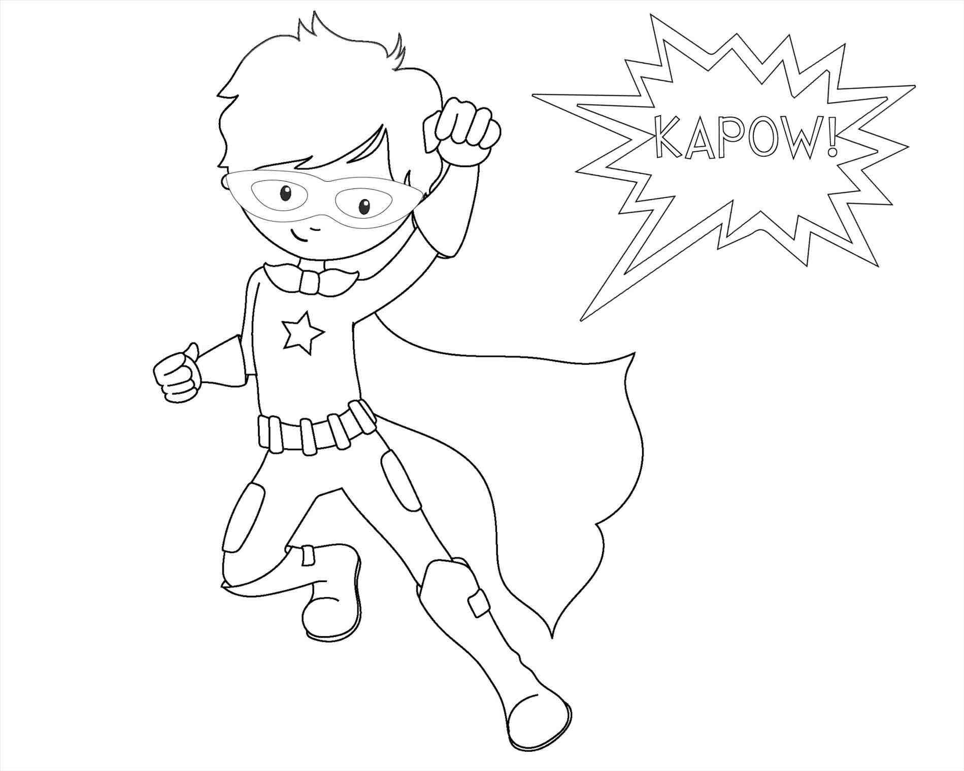 Superhero Drawing Templates At Getdrawings