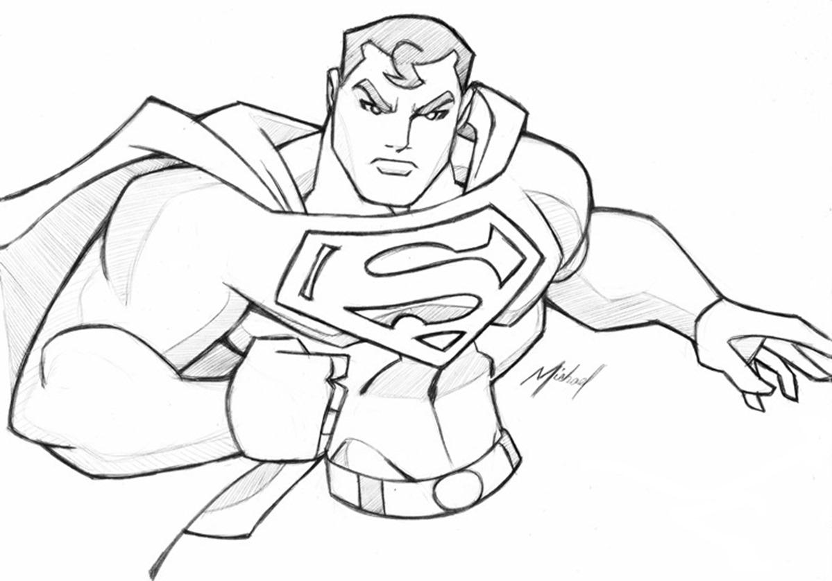 Superman Drawing Easy At Getdrawings