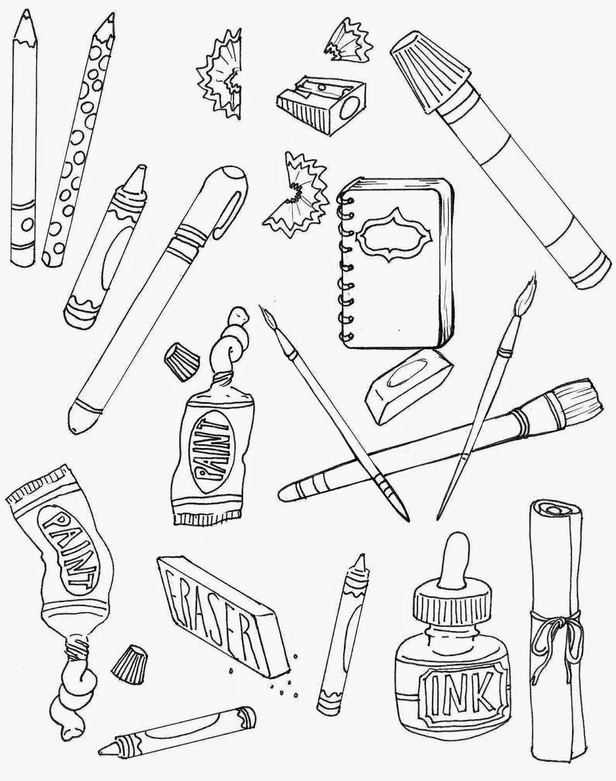 Supplies Drawing At Getdrawings