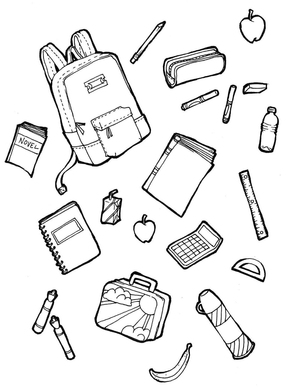 Supplies Drawing At Getdrawings