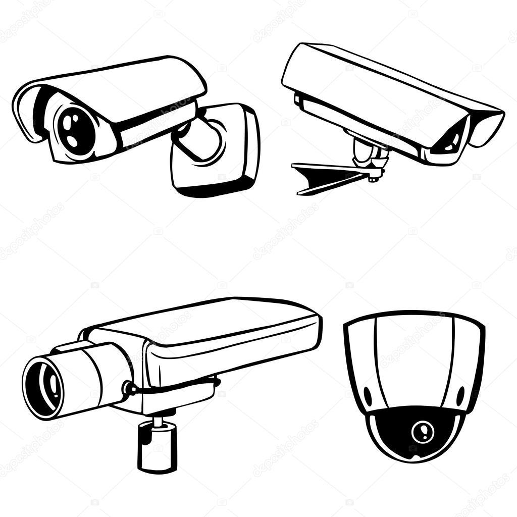 Surveillance Camera Drawing At Getdrawings