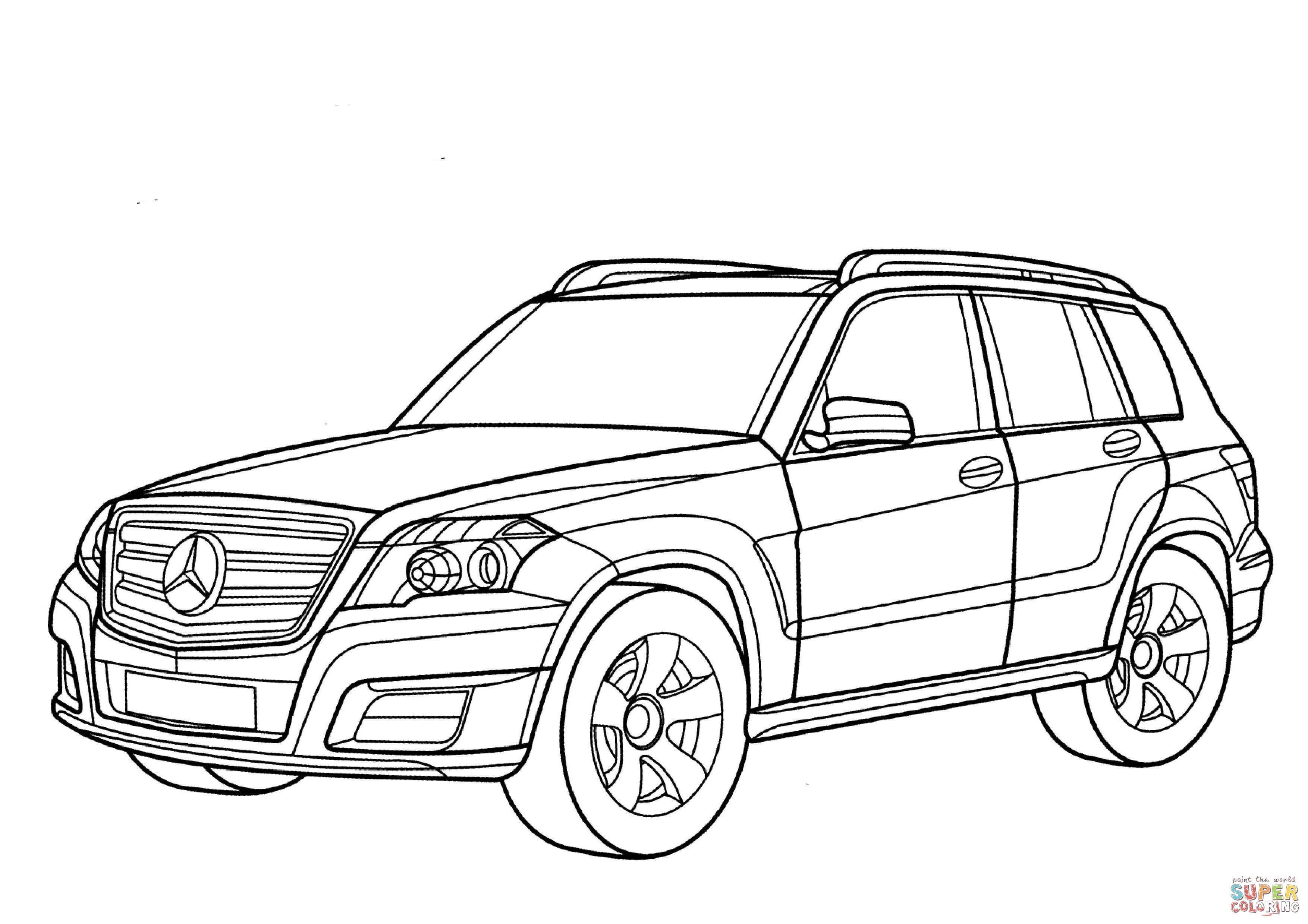 Suv Drawing At Getdrawings