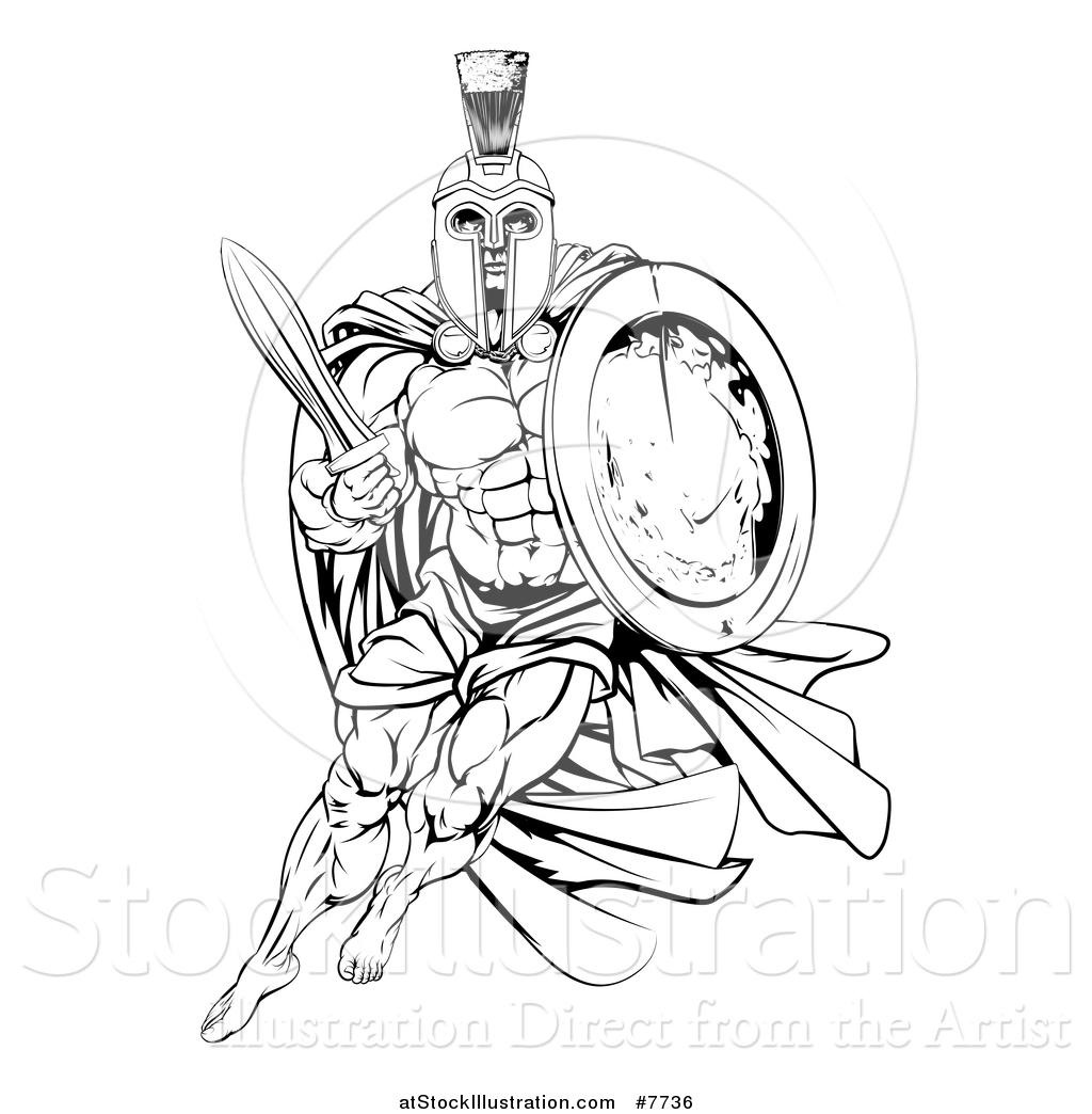 Sword And Shield Drawing At Getdrawings
