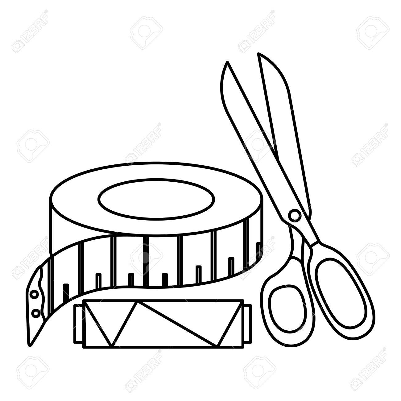 Tape Measure Drawing At Getdrawings
