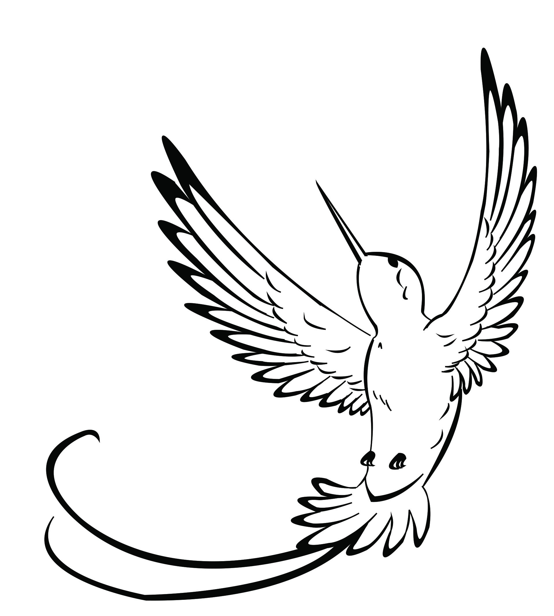 Tattoo Line Drawing At Getdrawings