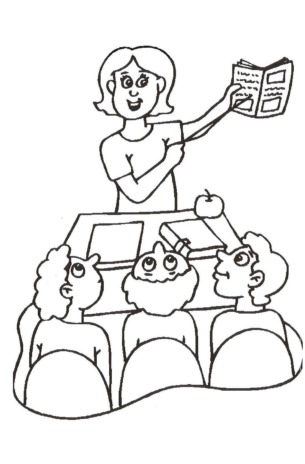 Teacher Drawing At Getdrawings