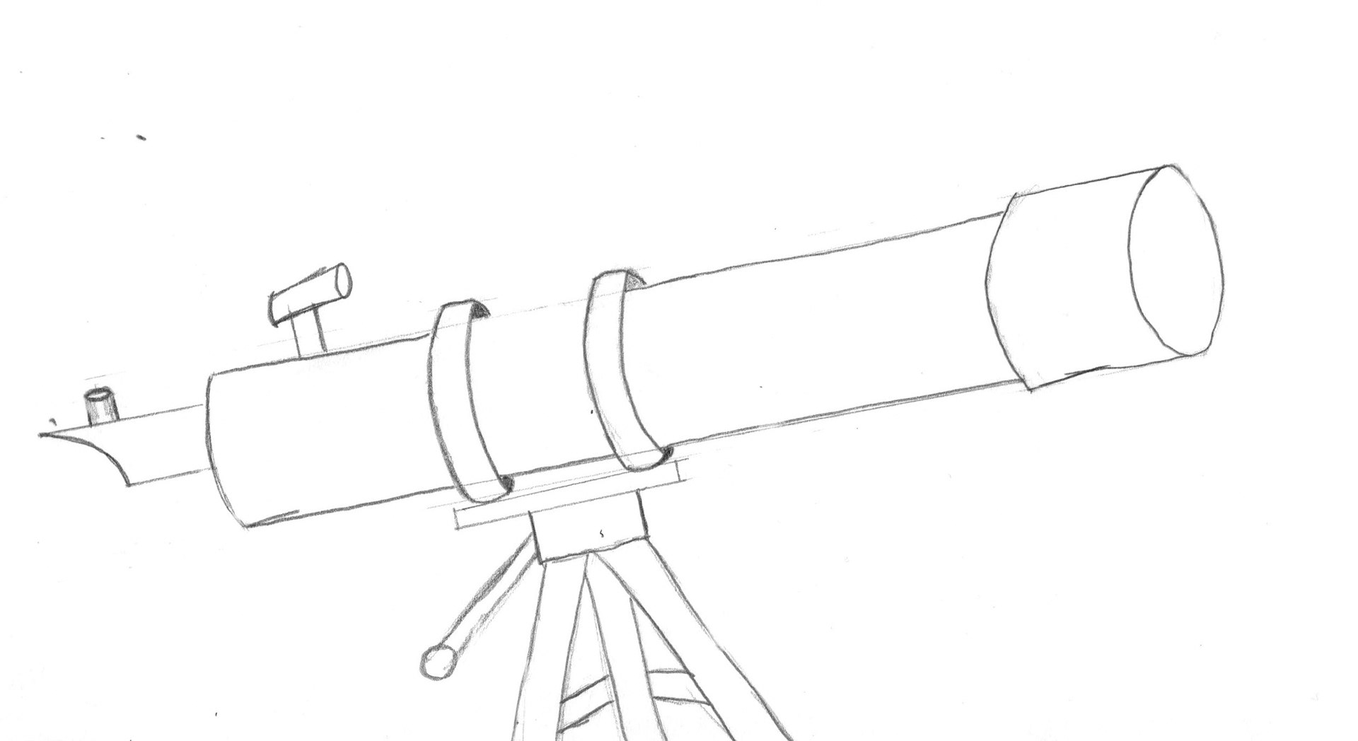 Telescope Drawing At Getdrawings