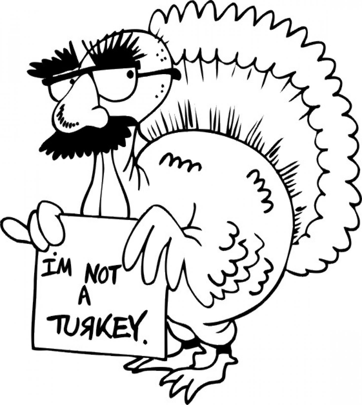 Thanksgiving Turkey Drawing At Getdrawings