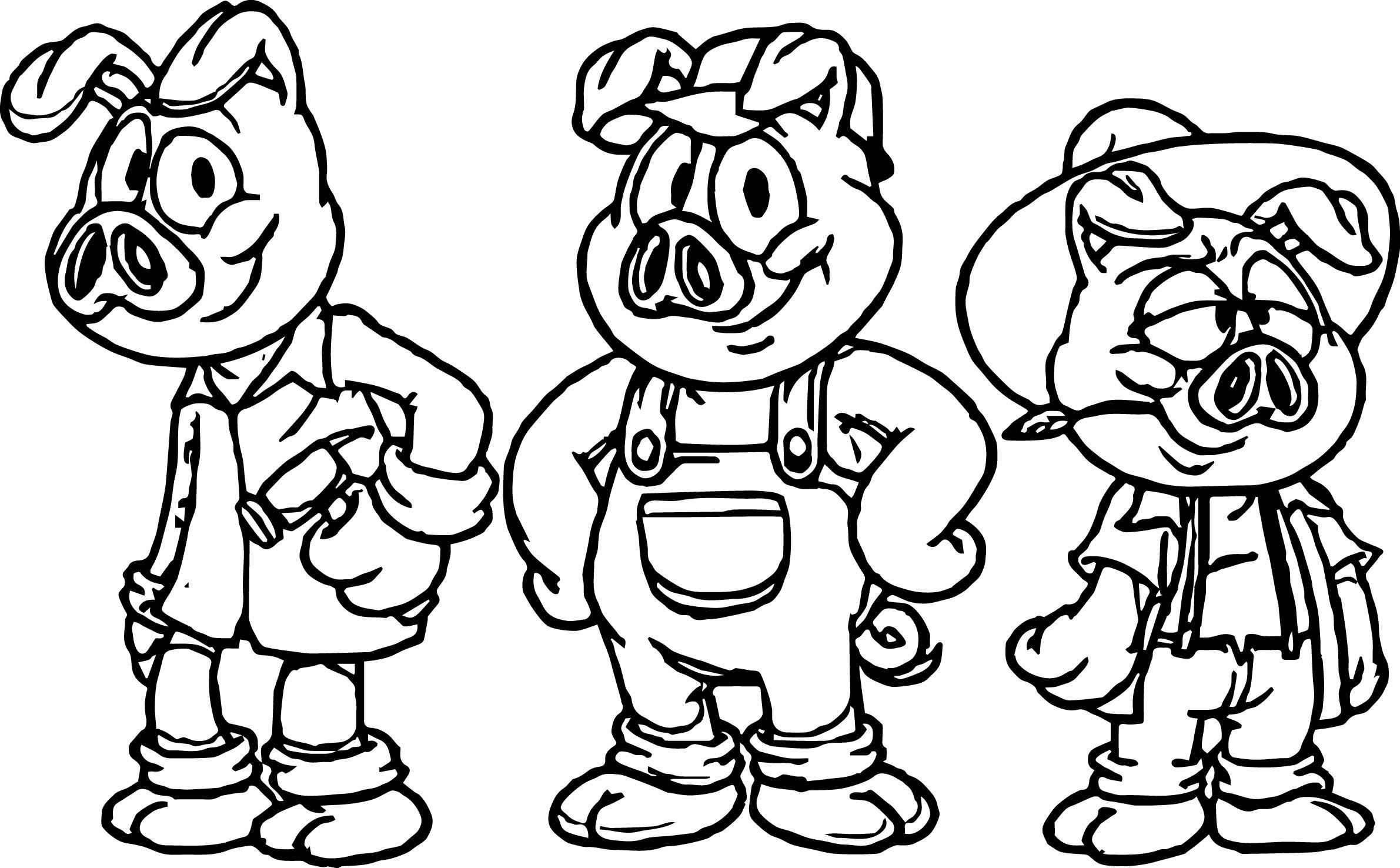 Pigs Drawing For Kids At Getdrawings