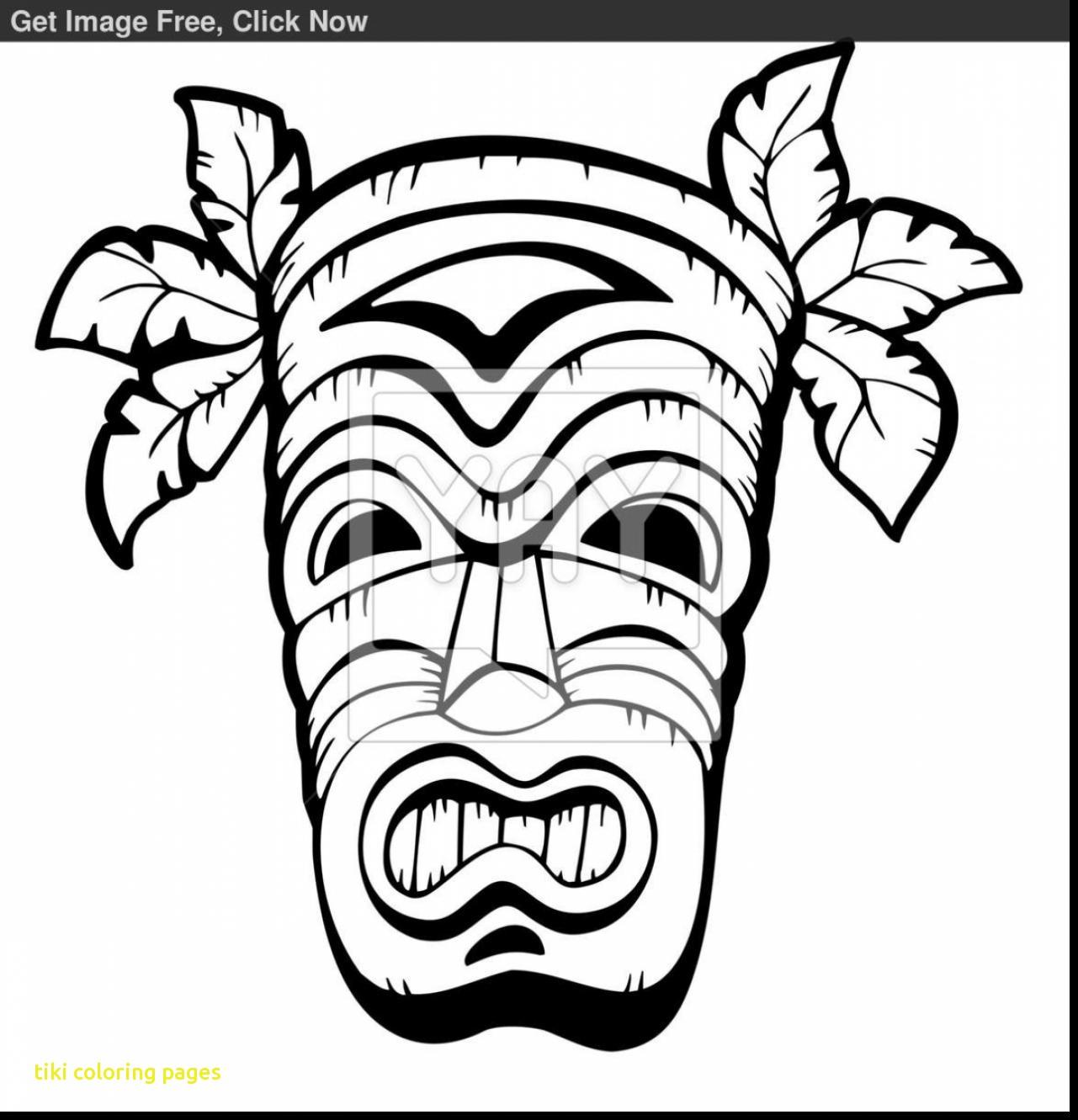 Tiki Head Drawing At Getdrawings