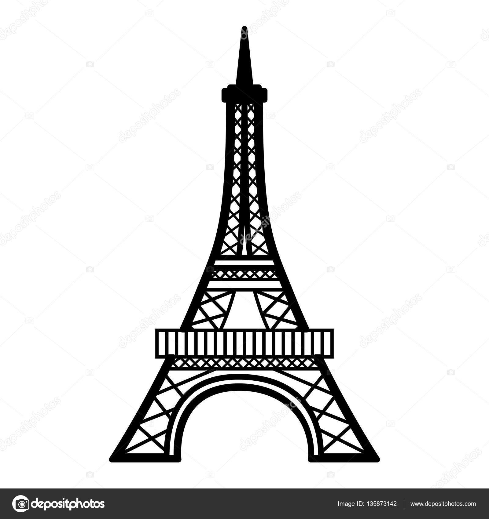 Torre Eiffel Drawing At Getdrawings