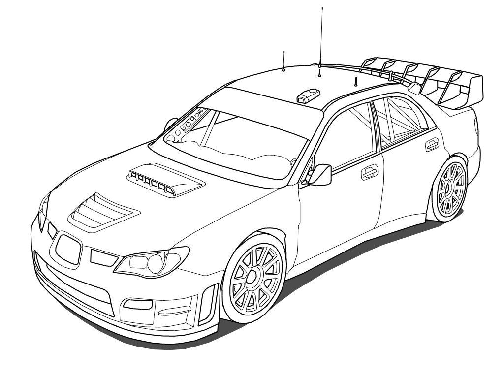 Toyota Supra Drawing At Getdrawings