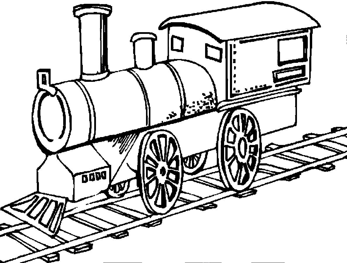 Train Drawing Outline At Getdrawings