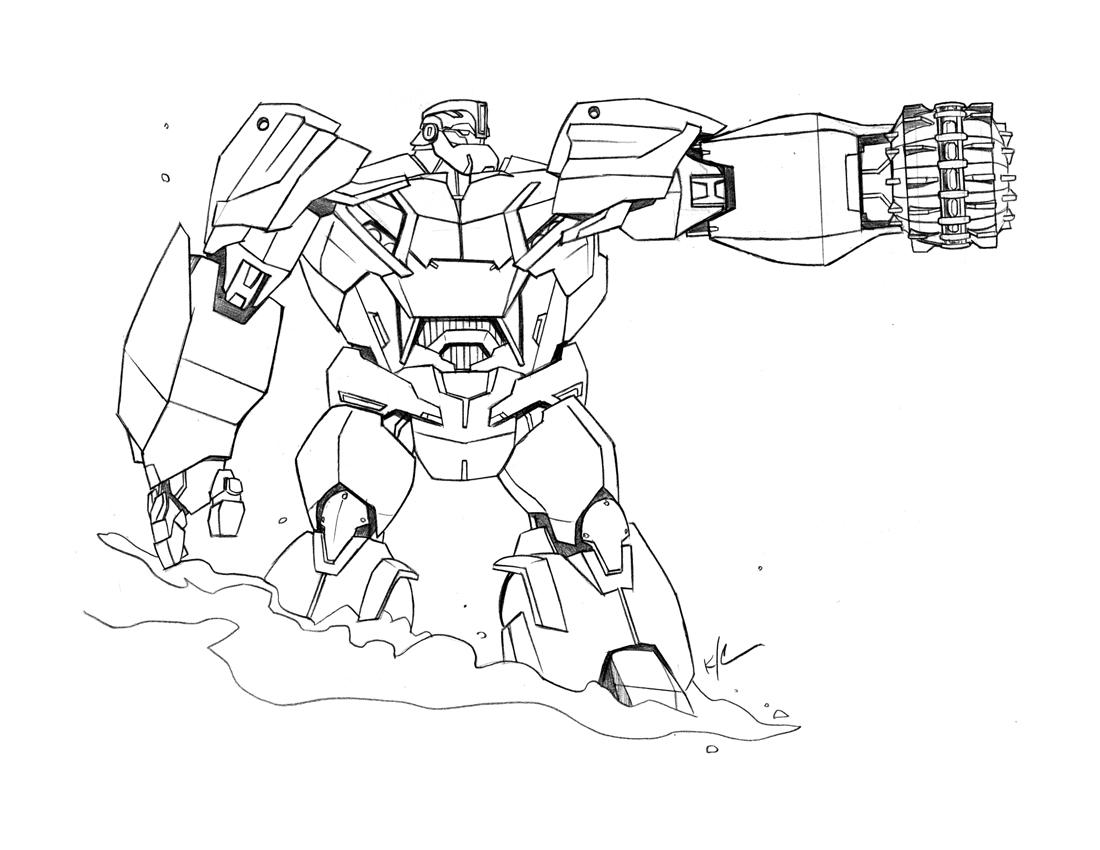 Transformers Prime Drawing At Getdrawings