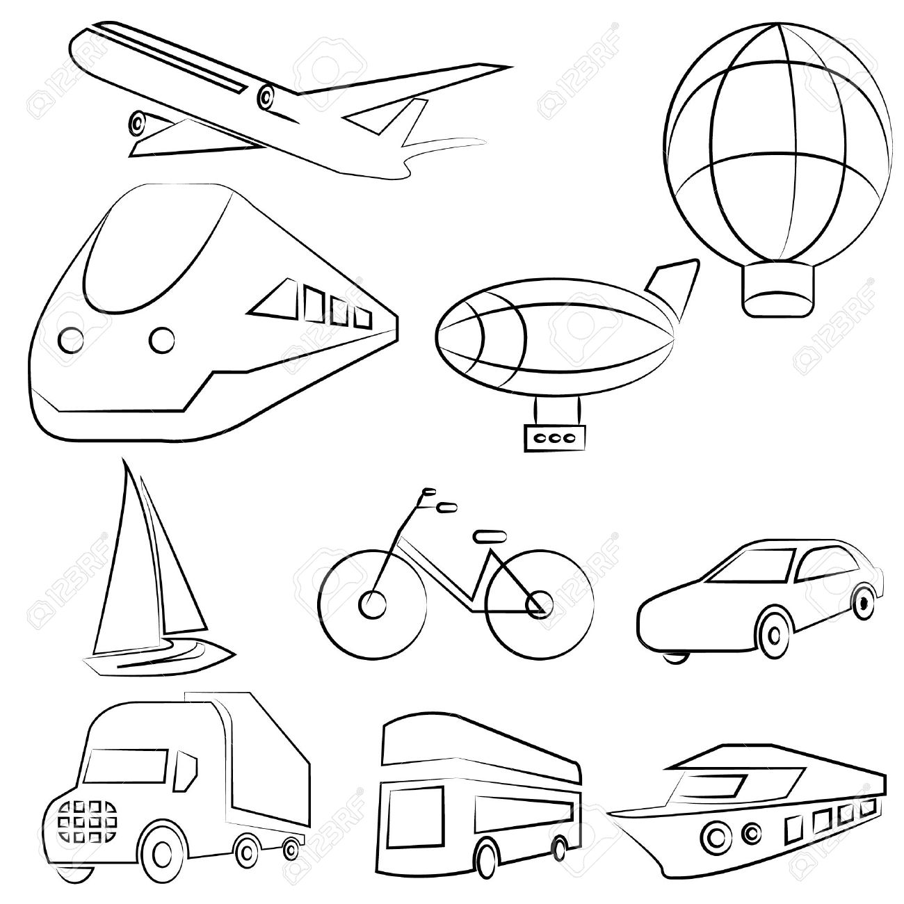 Transport Drawing At Getdrawings