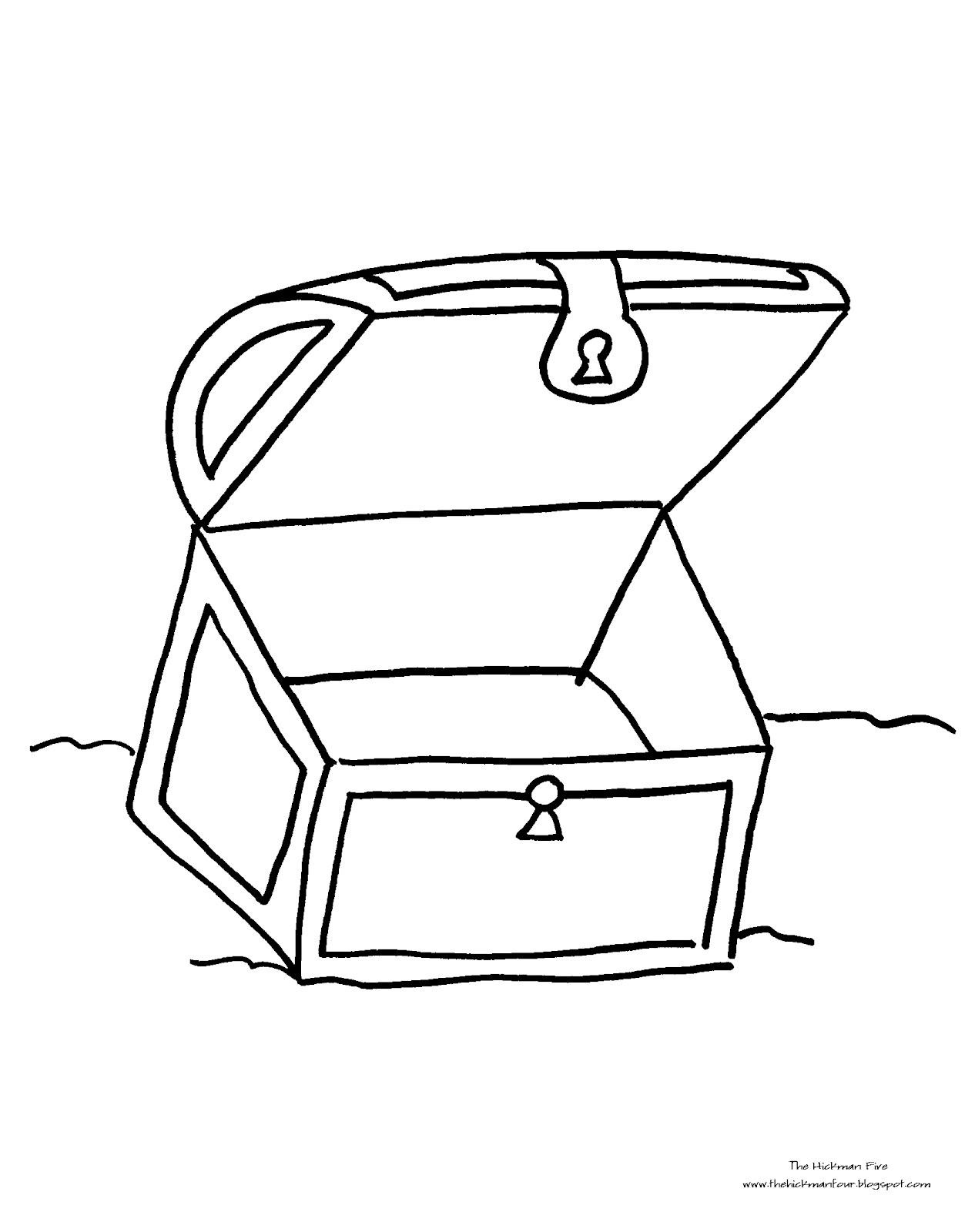 Treasure Box Drawing At Getdrawings