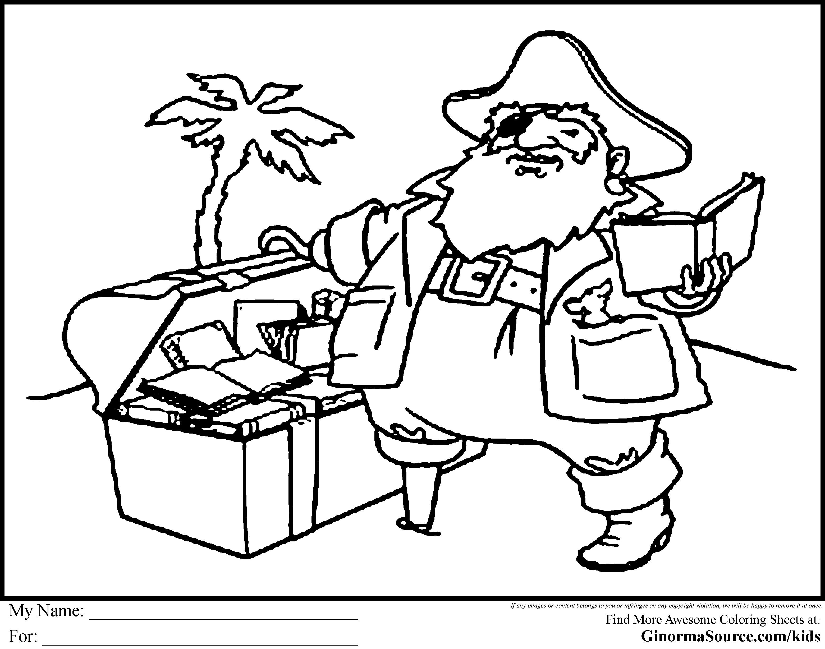 Treasure Chest Drawing At Getdrawings