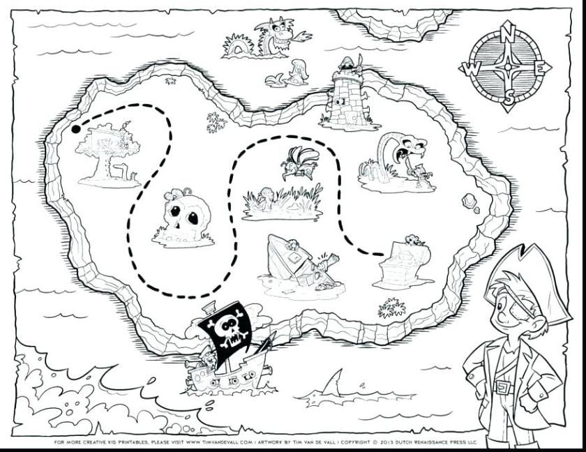 treasure map drawing at getdrawings  free download