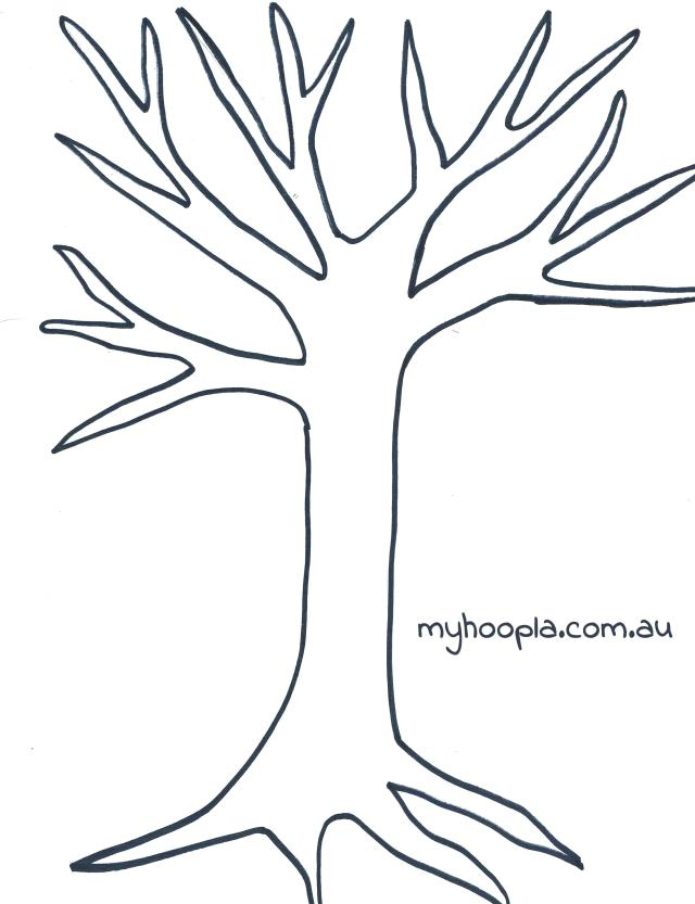 tree template no leaves free download