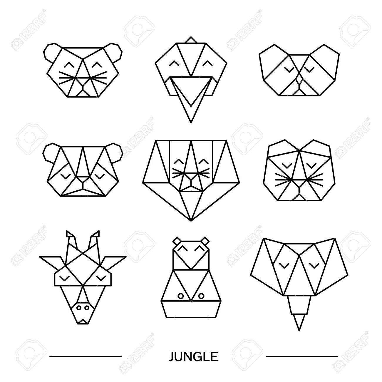 The Best Free Origami Drawing Images Download From 311