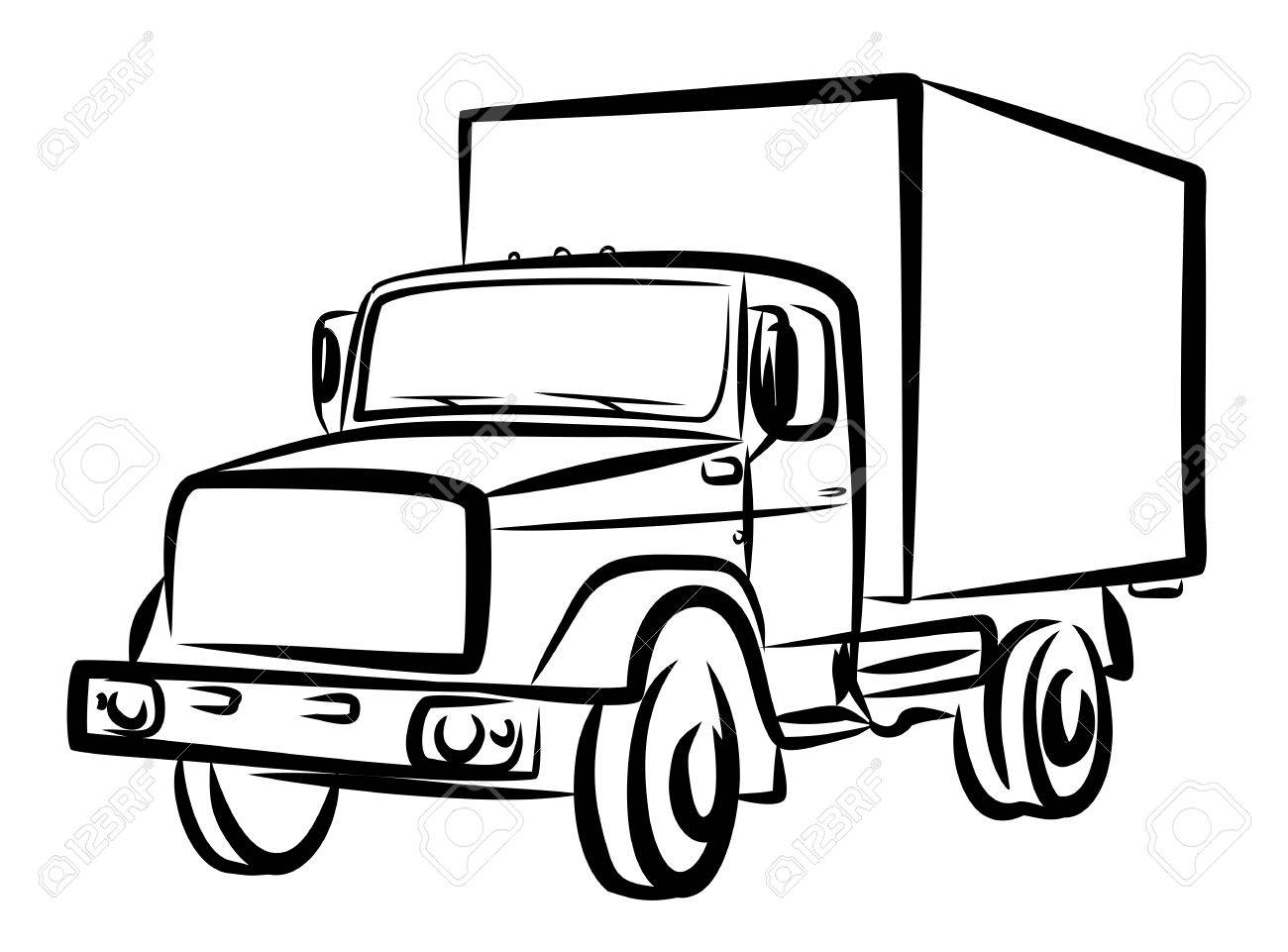 Truck Drawing Pictures At Getdrawings
