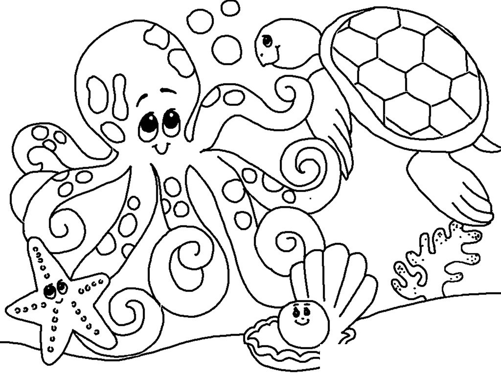 Under Sea Pictures For Drawing At Getdrawings