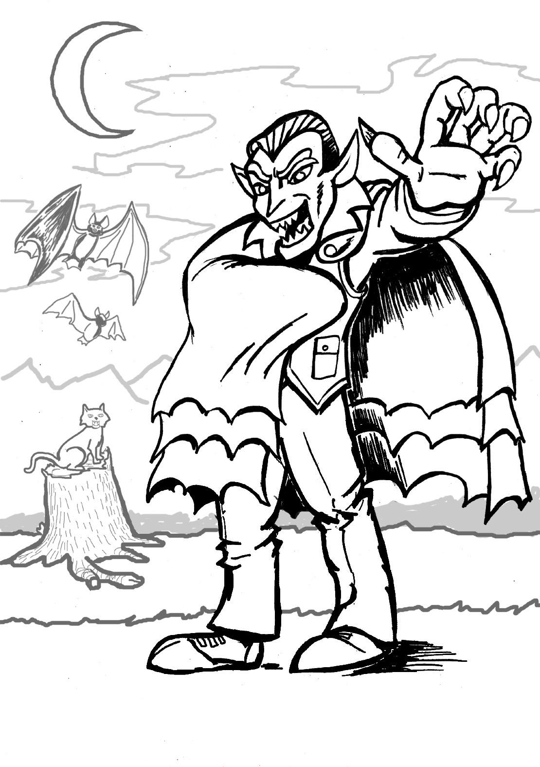 Vampire Drawing For Kids At Getdrawings