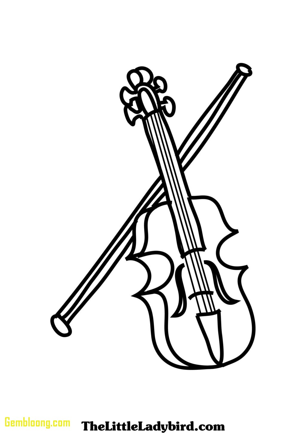 Violin Drawing At Getdrawings