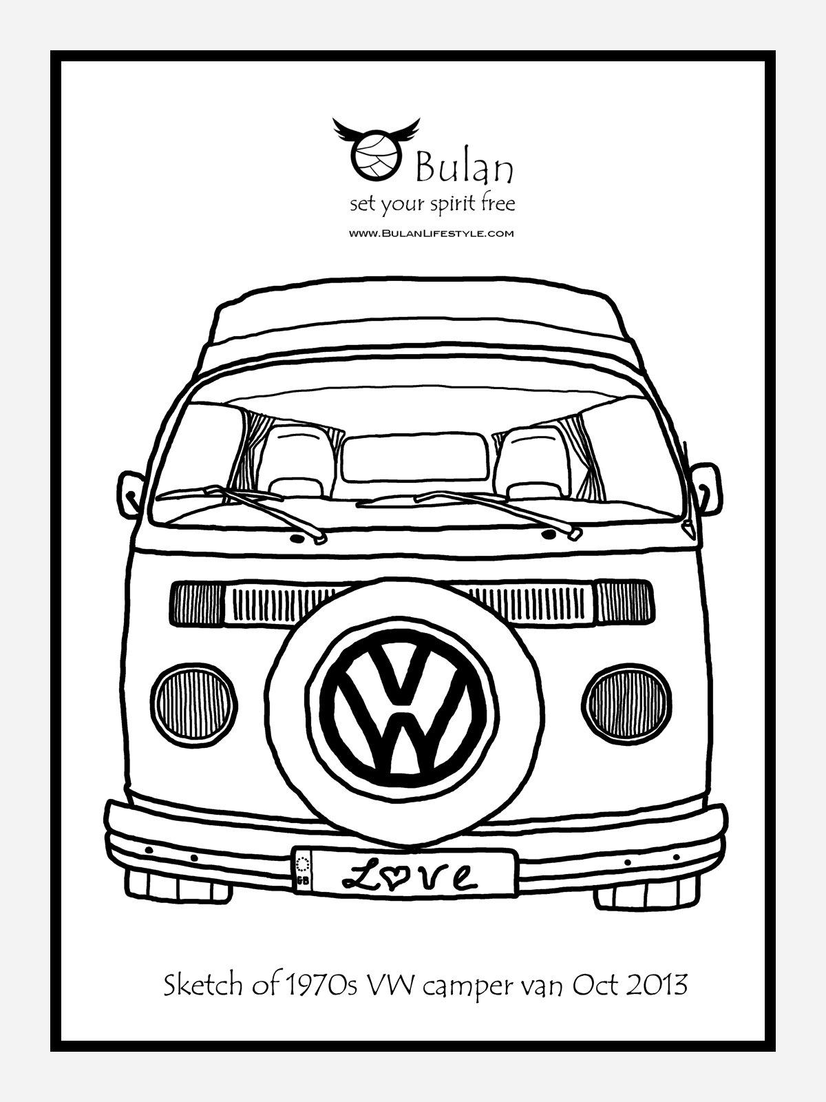 Volkswagon Drawing At Getdrawings
