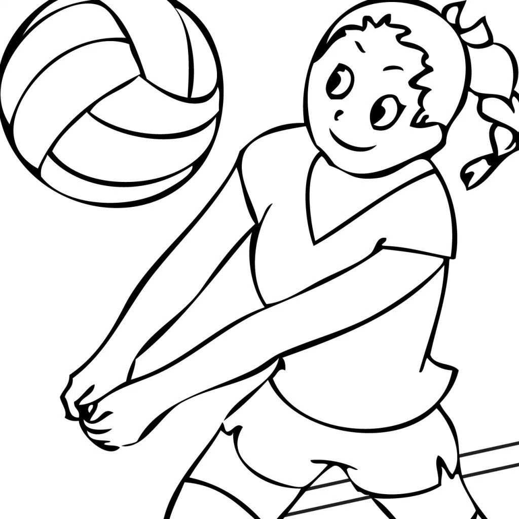Volleyball Court Drawing At Getdrawings