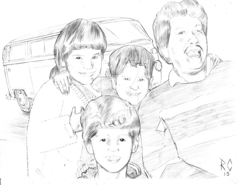 1017x786 vw bus t2 family by robertocarmona on deviantart