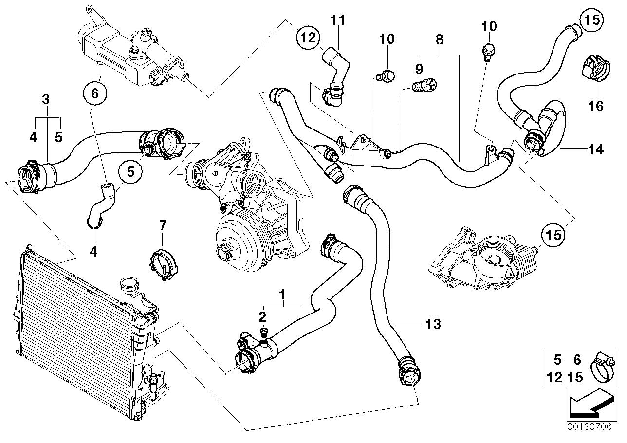 Bmw 3 0 Cooling System Diagram