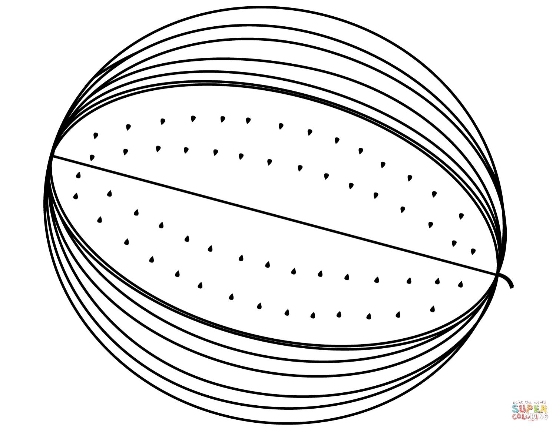 Watermelon Slice Drawing At Getdrawings