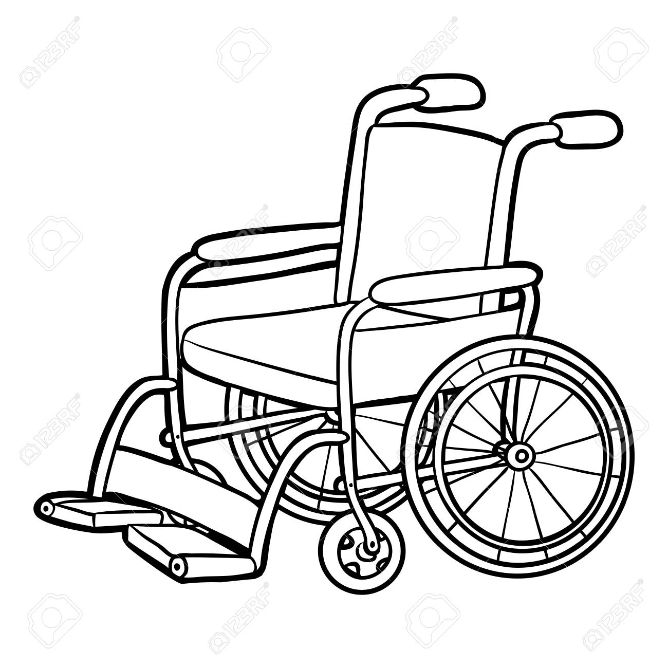 Wheel Chair Drawing At Getdrawings