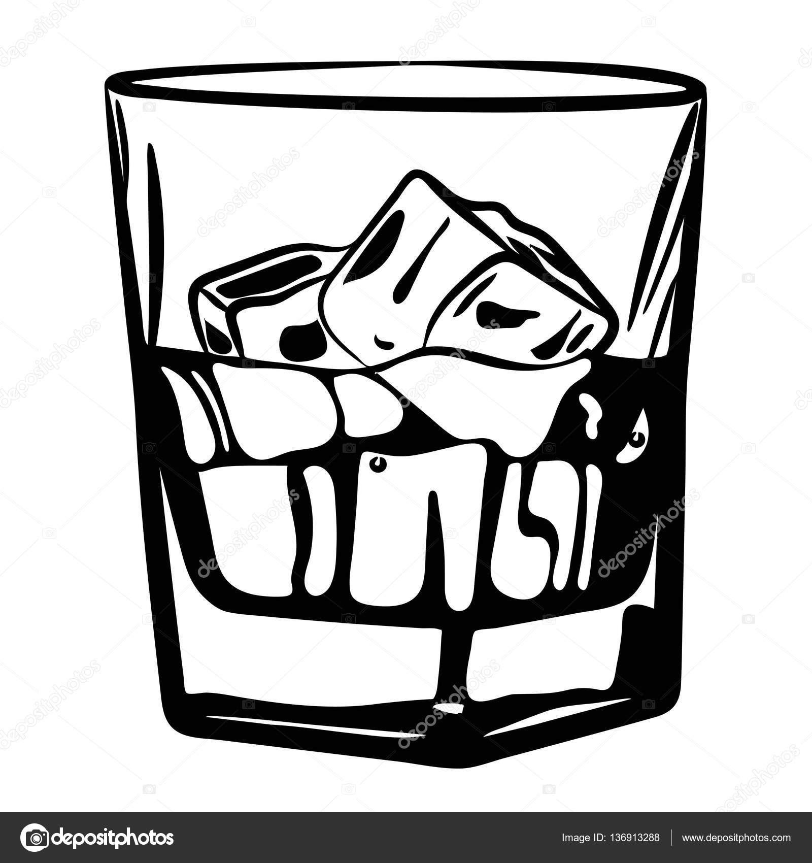 Whiskey Drawing At Getdrawings