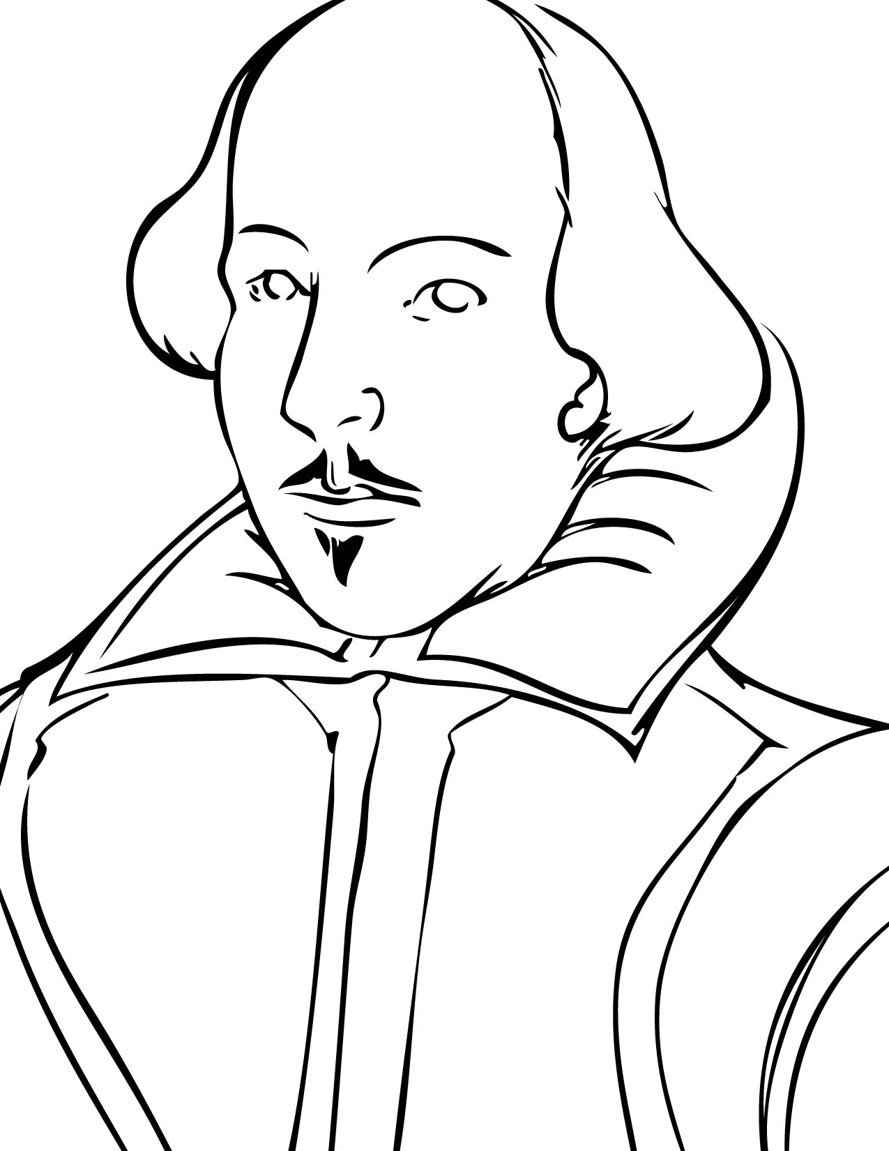 William Shakespeare Drawing At Getdrawings