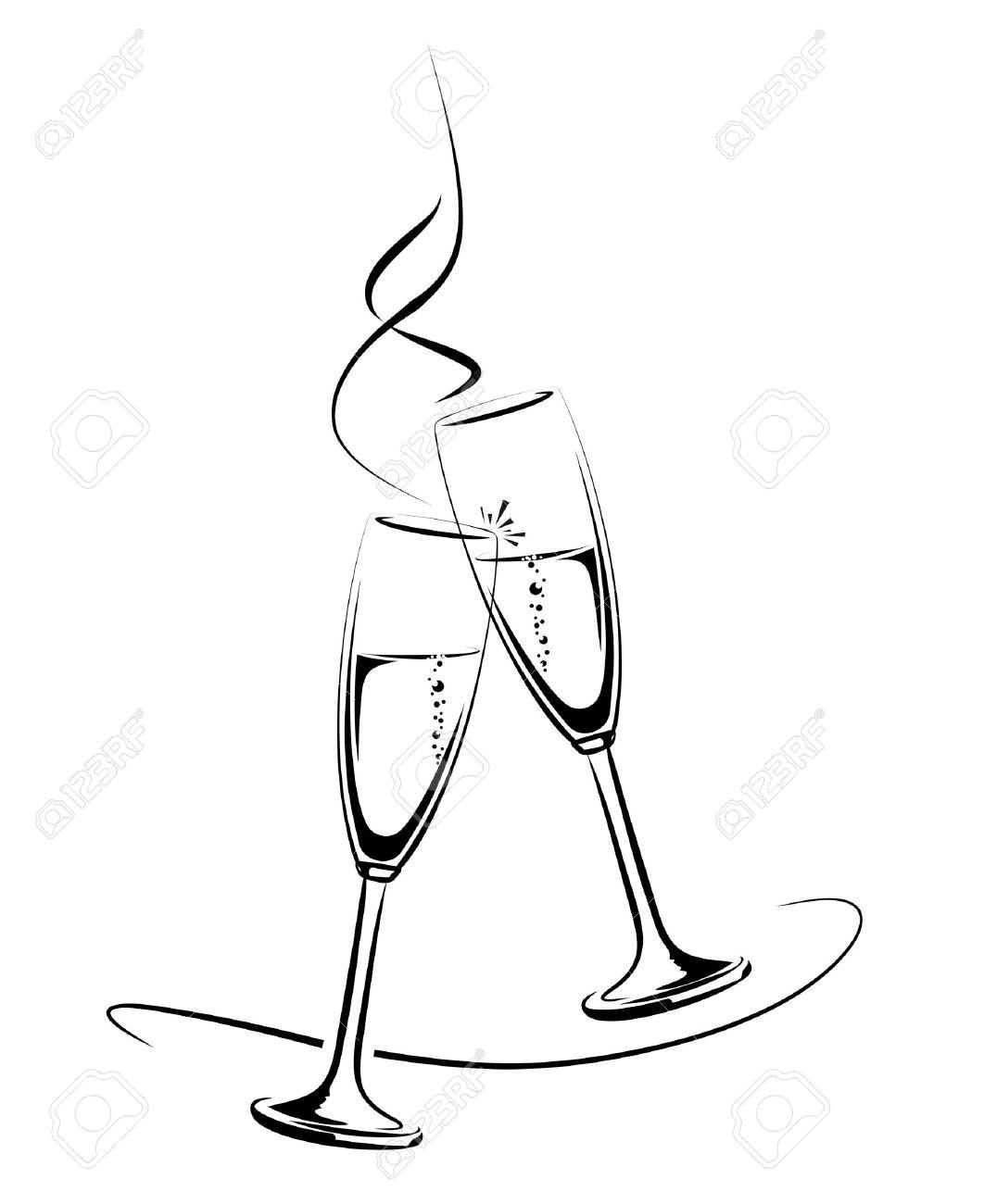 Silhouette Wine At Getdrawings