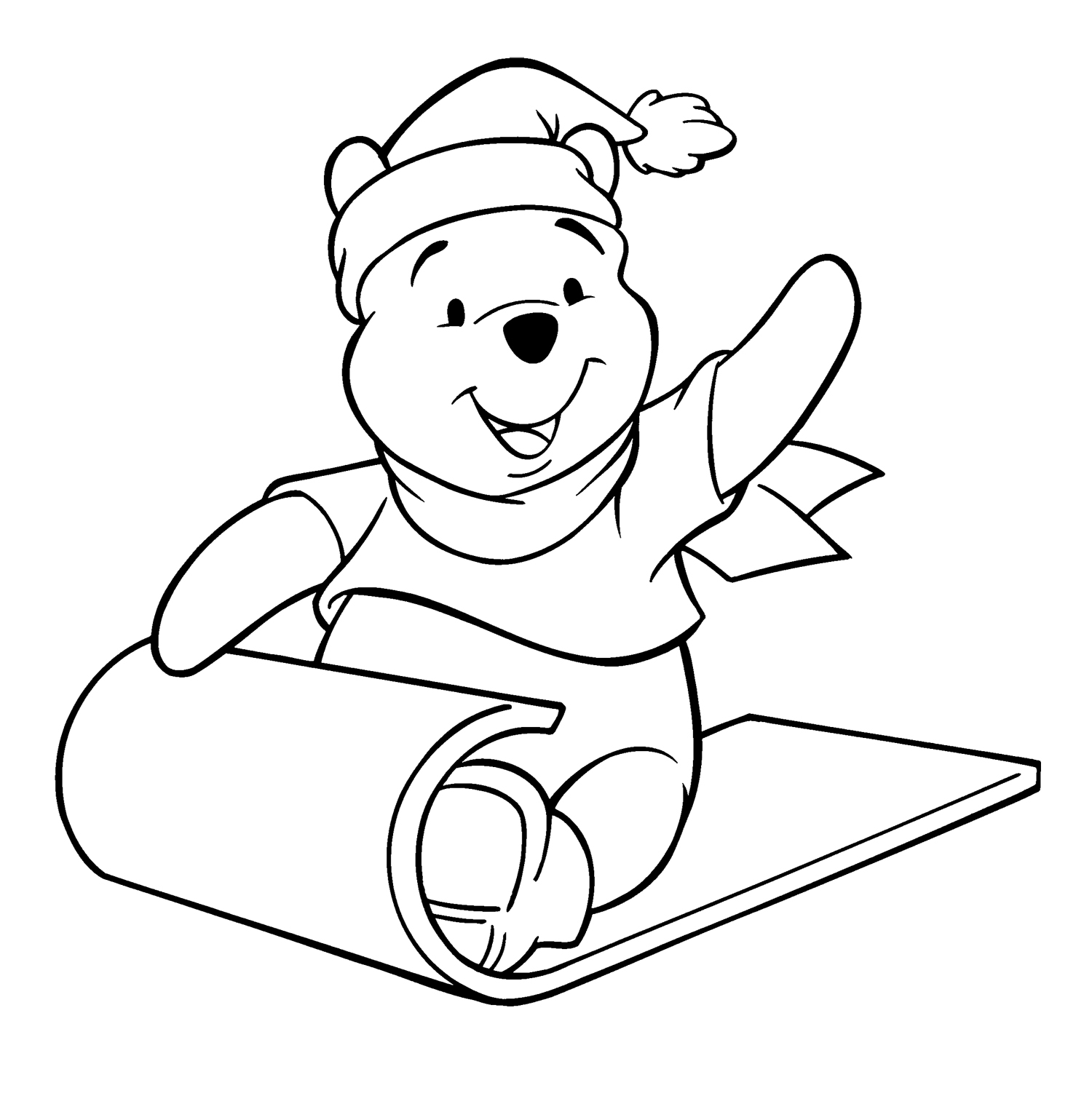 Winnie The Pooh Drawing At Getdrawings