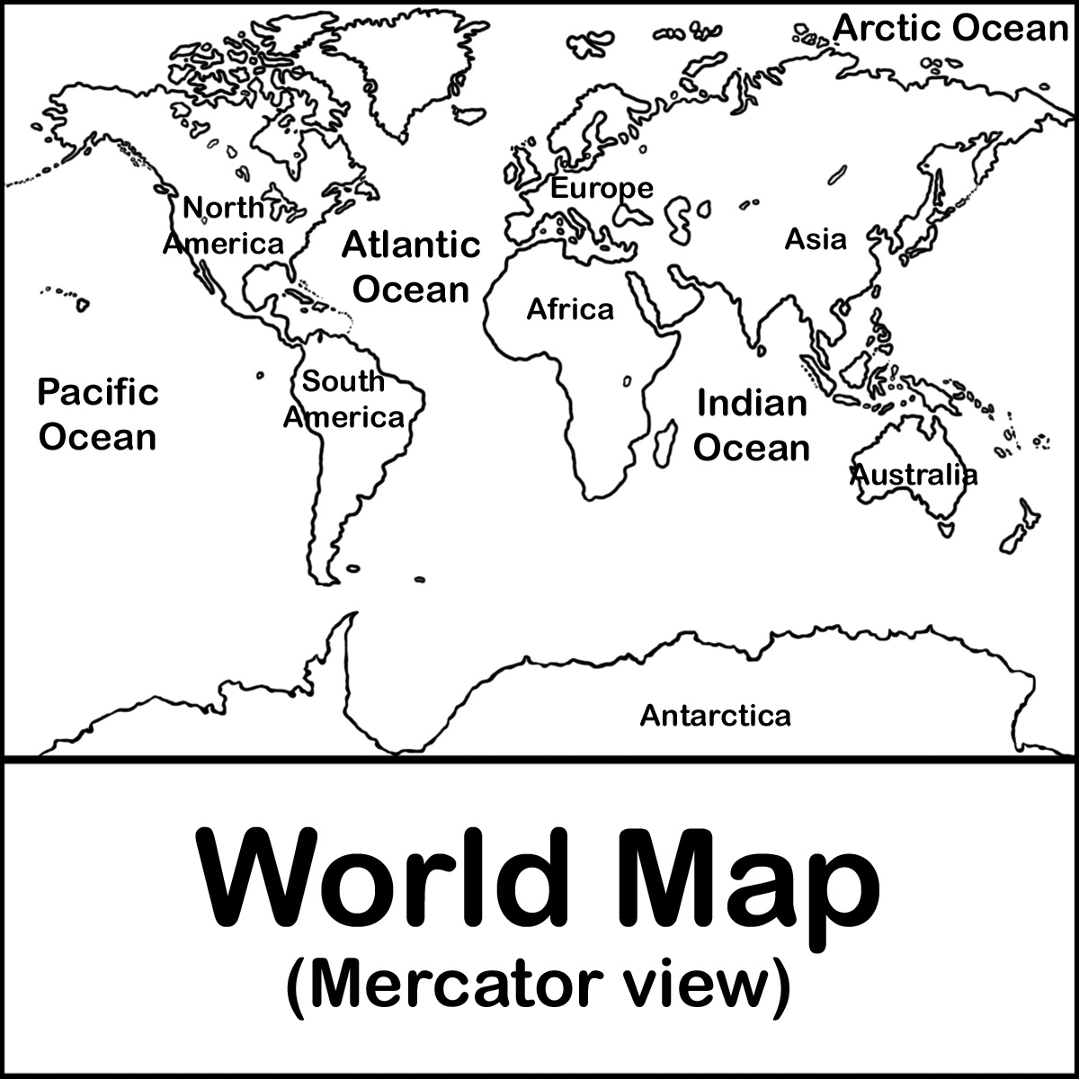 World Map Drawing For Kids At Getdrawings