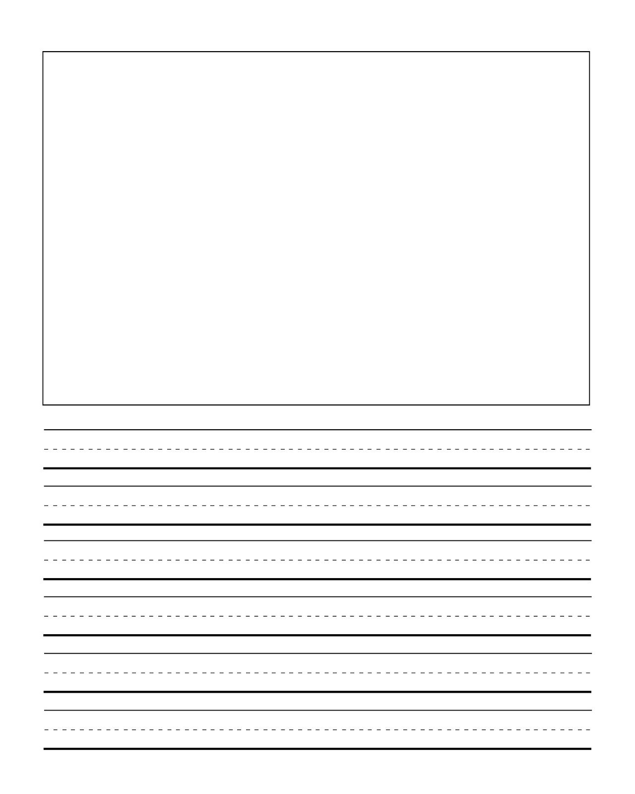 Writing And Drawing Template At Getdrawings