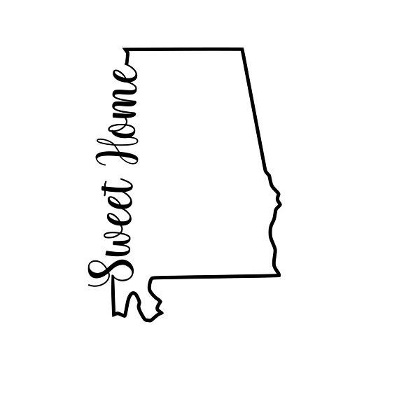 Download Alabama State Silhouette at GetDrawings | Free download