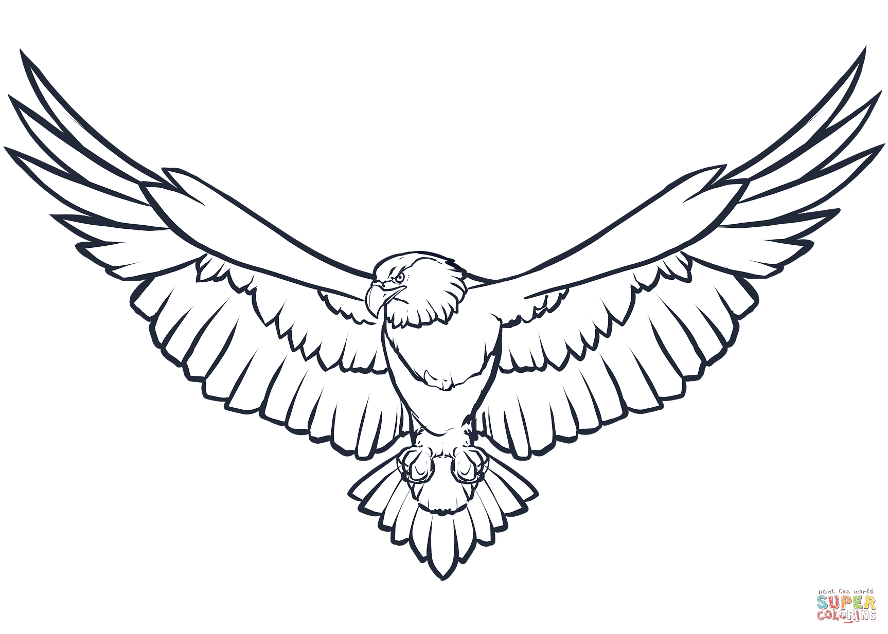 Bald Eagle Silhouette Pattern At Getdrawings