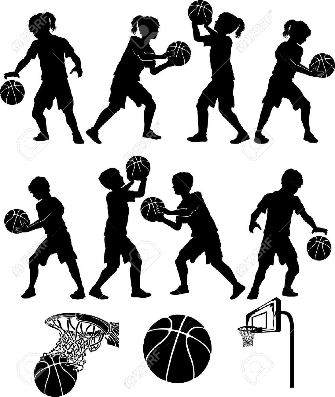 Basketball player black white drawing basketball player black white drawing